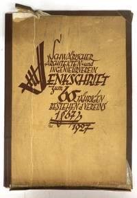 Denk Schrift zum 60 Jahrigen Bestehen des Schwab. Architekten und Ingenieur Vereins