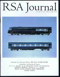 RSA Journal No. 5426 February 1992: The Journal of the Royal Society for the Encouragement of...