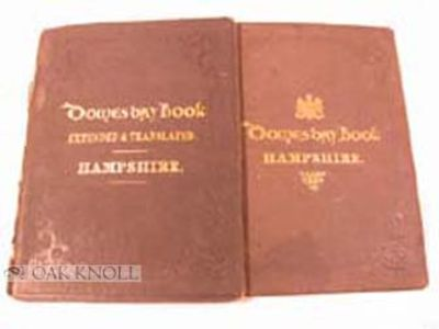 Winchester: Doswell, John T., 1862. original cloth with gilt lettering. folio. original cloth with g...