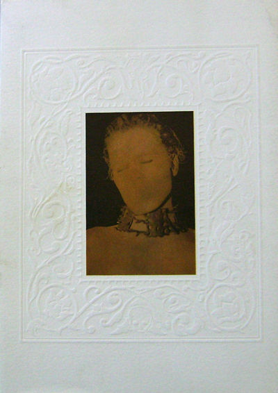 New York: Facchetti Gallery, 1999. First edition. Paperback. Fine/very good. Paperbound quarto in du...