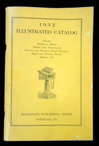 1932 Illustrated Catalog from the Mennonite Publishing House With Blank Order Form and Envelope