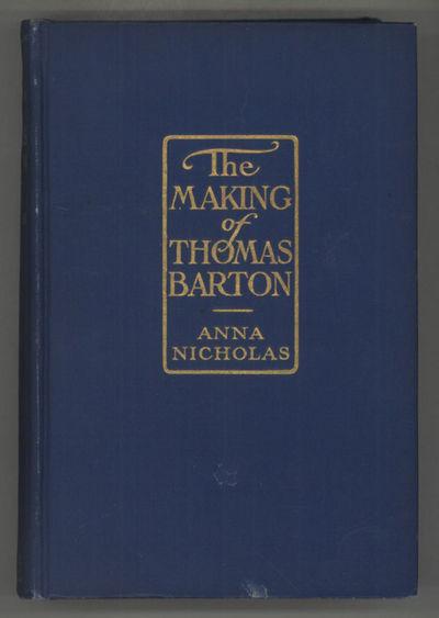 Indianapolis: The Bobbs-Merrill Company Publishers, 1913. Octavo, pp. 1-335 , original blue cloth, f...