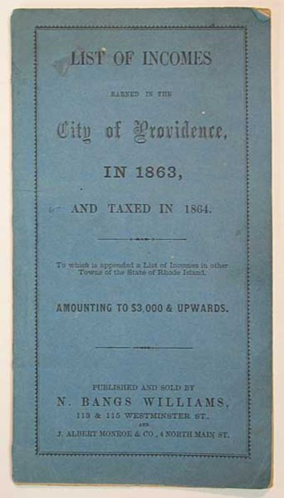 : Published and Sold by N. Bangs Williams, (n. d.). 1st printing. Original publisher's printed blue ...