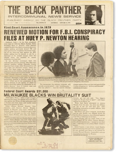 Oakland: Black Panther Party, 1978. First Edition. Paperback. Scarce, late issue of this long-runnin...