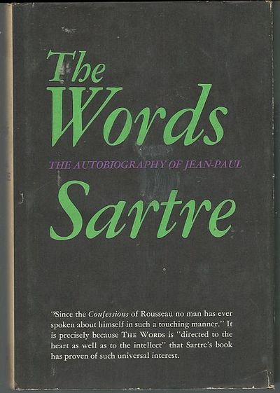 WORDS The Autobiography, Sartre, Jean Paul