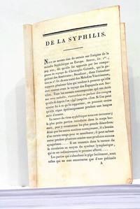 De la Syphilis.