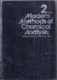 Modern Methods of Chemical Analysis. Second Edition