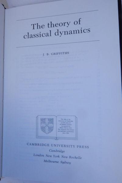Cambridge, London, New York, New Rochelle, Melbourne, Sydney: Cambridge University Press, 1985. Firs...