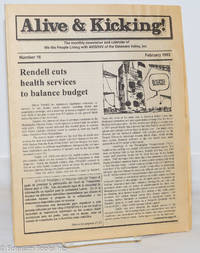 image of Alive & Kicking: the newsletter & calendar of We the People Living With AIDS/HIV of the Delaware Valley; #16, February, 1993