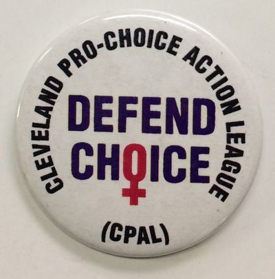 Cleveland: CPAL, n.d.. 2.25 inch pin, very good.