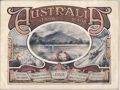 To Australia via Java by the K.P.M.