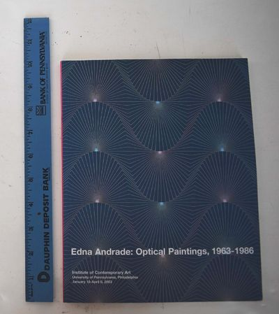 Philadelphia: Institute of Contemporary Art, University of Pennsylvania, 2003. Softbound. VG- (Ex-ar...