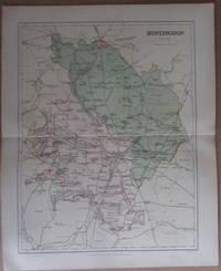 MAP OF HUNTINGDON - 1894