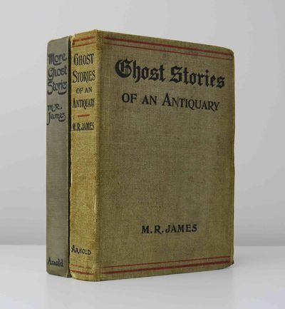 james m r ghost stories of an antiquary with more ghost stories london arnold 1905 a pair of first edition first printings published by arnold