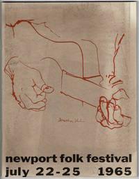 [Program for:] Newport Folk Festival July 22-25, 1965 by  Bob [i.e. Robert Allen Zimmerman] Dylan  - 1965  - from Rulon-Miller Books (SKU: 56708)