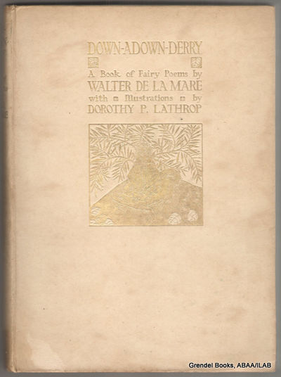 London:: Constable & Co.,. Very Good. 1922. Hardcover. Illustrations include three color plates. Lim...