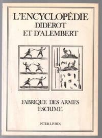 Fabrique des armes et escrime by Encyclopédie Diderot Et D'Alembert