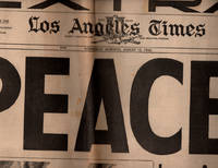 image of Los Angeles Times, Extra! Wednesday Morning, August 15, 1945: PEACE! (Newspaper)