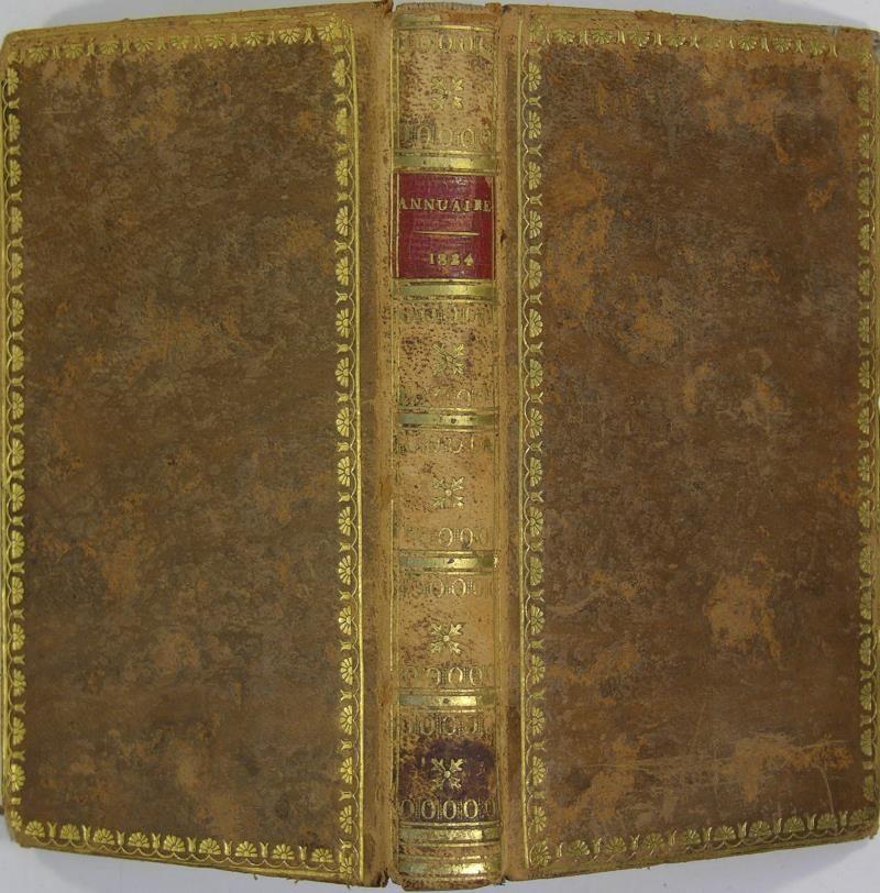 annuaire pour l an 1824 pr sent au roi par les bureau. Black Bedroom Furniture Sets. Home Design Ideas