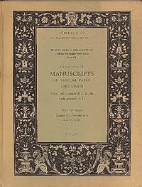 Bibliotheca Phillippica: Medieval Manuscripts: New Series: Seventh Part