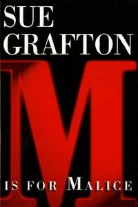 M is for Malice (The Kinsey Millhone Alphabet Mysteries) by  Sue Grafton - Hardcover - 1996-11-15 - from Mycroft's Books (SKU: SKU0003571)