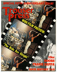 Trouser Press No. 37 (April 1979) (Volume 6 Number 3) Special Fifth Anniversary Issue