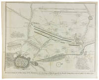 Map War of Spanish Succession Showing Siege of Douay from Tindal's Continuation of Rapin's History of England