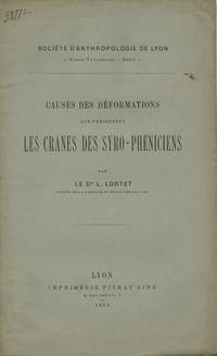 Lyon, France: Imprimerie Pitrat Ainé, 1884. First edition. Paper wrappers. A very good unopened (un...