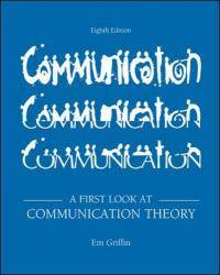 image of A First Look at Communication Theory