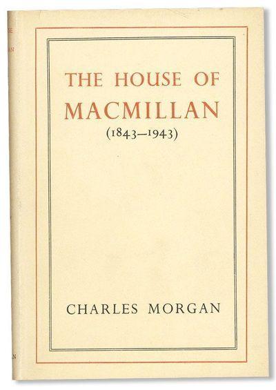 New York: Macmillan Company, 1944. First American Edition. Small octavo (19.25cm.); original cloth i...