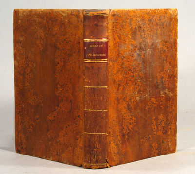 1812. BURNS, John. DISSERTATIONS ON INFLAMMATION. Volume I. (& II.) Albany: Published by E. F. Backu...