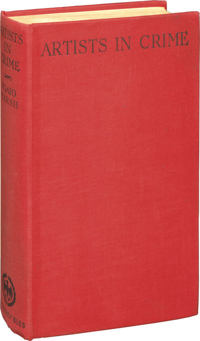 London: Geoffrey Bles, 1938. First UK Edition, preceding all others. A Roderick Alleyn mystery. Very...