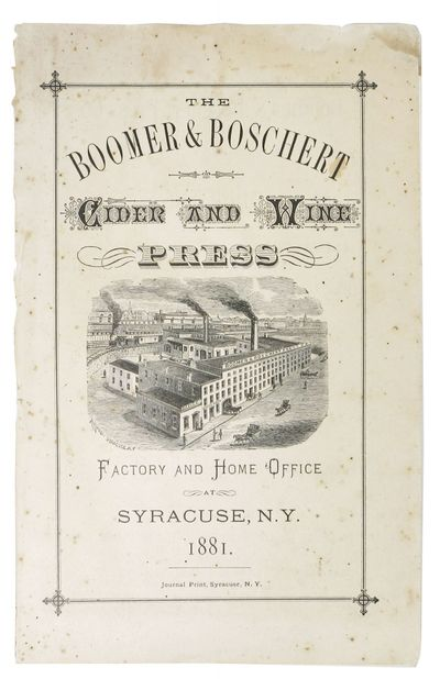 Syracuse, N.Y.: Journal Print, 1881. 1st edition thus (Romaine, p. 3). Printed self-wrappers, sewn. ...