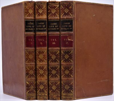 London: Saunders and Otley, 1842. Four volumes in contemporary full polished calf, the backs with gi...
