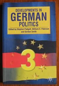 Developments in German Politics