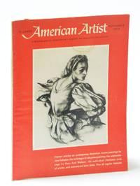 American Artist Magazine, November (Nov.) 1959 - Hans Axel Walleen  / John Folinsbee