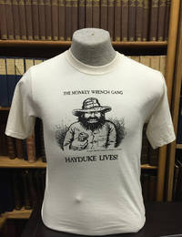 Hayduke Lives! T-Shirt - Natural (M); The Monkey Wrench Gang T-Shirt Series