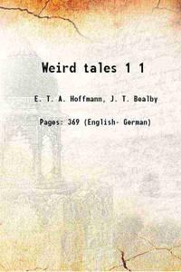 Weird tales Volume 1 1885