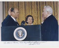 """President Gerald Ford's Inaugural Statement to Heal a Nation, Signed: """"Our long national nightmare is over"""" Amongst the most famous words ever uttered by a U.S. President, they brought to a close the Watergate scandal and the traumatic and divisive events of the decade that preceded it."""