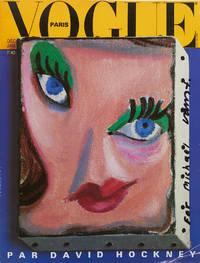 Paris Vogue Par David Hockney. (Signed on cover)