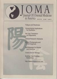 JOMA Journal of Oriental Medicine in America  Winter 1997, Volume 1, Number 2