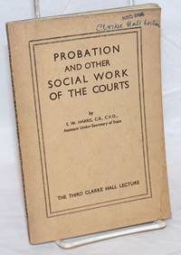 Probation and other social work of the courts
