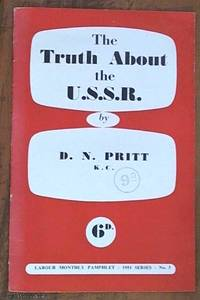 image of The truth about the U.S.S.R (Labour Monthly pamphlets 1951 series; no. 3)