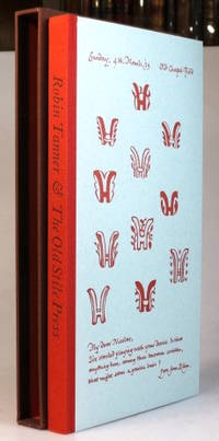Robin Tanner & The Old Stile Press. Being printed examples of twenty original patterned paper...
