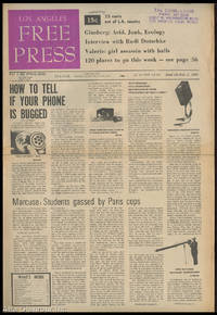 LOS ANGELES FREE PRESS; How To Tell If Your Phone Is Bugged [Headline] by  Arthur (Ed.) Kunkin - 1968 - from Alta-Glamour Inc. (SKU: 85566)