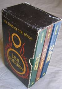 The Lord of the Rings (box set):  book 1:  The Felllowship of the Ring;  book 2:  The Two Towers;  book 3:  The Return of the King  -(all in a slipcase/box)-