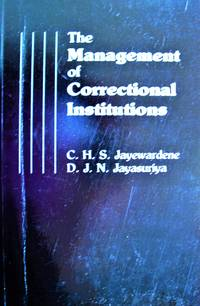 image of The Management of Correctional Institutions