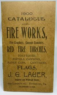 Fire Works, Fire Crackers, Cannon Crackers, Salutes, Red Fire Torches 1900 Catalogue