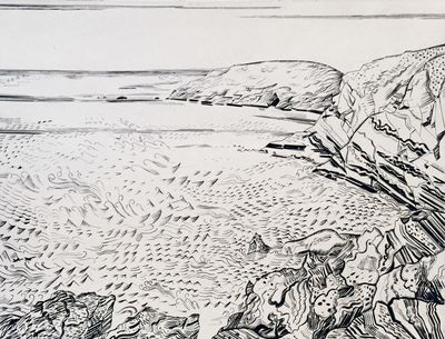 .. 10 original copperplate etchings, each signed in pencil in the margin. Sheet size: 300 x 400 mm. ...