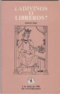 Adivinos o libreros? (Coleccion Amigos de la Libreria del Prado X)
